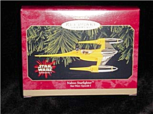 Star Wars Naboo Starfighter Hallmark Ornament (Image1)