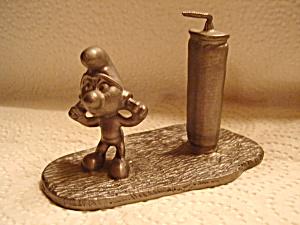 Peyo Pewter Smurf Figurine  (Image1)