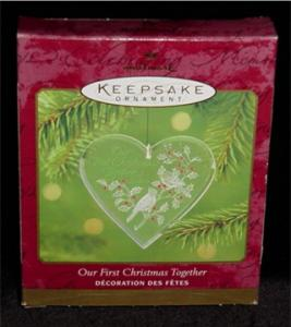 2000 1st Christmas Together Hallmark Ornament (Image1)