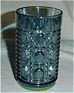 Indiana Carnival Glass Drinking Glass