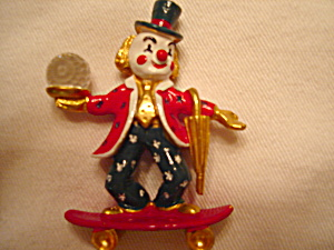 Spoontiques Pewter Clown
