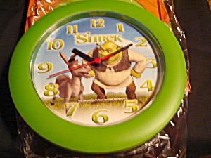 Walt Disney Shrek Wall Clock (Image1)