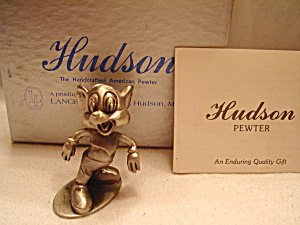 Hudson Pewter Andy Panda Pewter Figurine