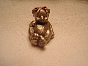 Hudson Pewter Noah's Ark Baby Bear (Image1)
