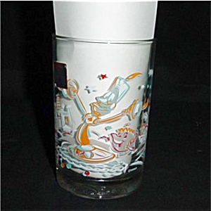 Mcdonalds Walt Disney Lumiere Glass