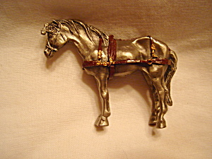 Hudson Pewter Villagers Horse