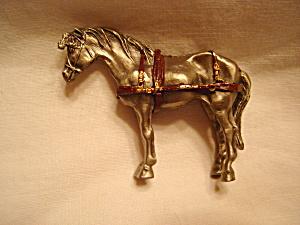 Hudson Pewter Villagers Horse (Image1)