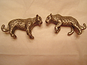 Hudson Pewter Noah's Ark Leopards