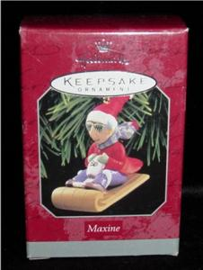 Maxine Hallmark Ornament (Image1)