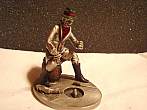 Hudson Pewter Mr. Crossman Villager Figurine