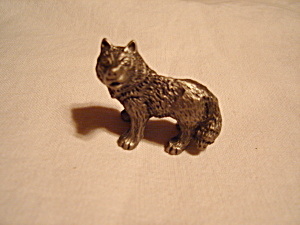 Hudson Pewter Noah's Ark Wolf (Image1)