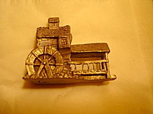 Boyd Perry Water Wheel Pewter Figurine (Image1)