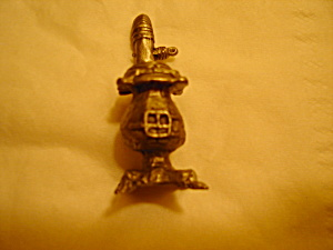 Boyd Perry Pot Belly Stove Pewter Figurine (Image1)