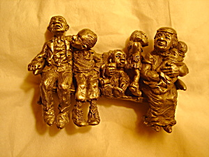 Boyd Perry Family Pew Pewter Figurine (Image1)
