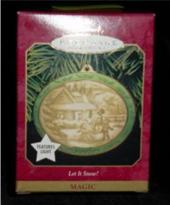 Let it Snow Hallmark Ornament (Image1)