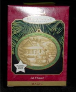 Let it Snow Hallmark Ornament (Image1)