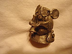 Prototype Hallmark Pewter Mouse Figurine (Image1)