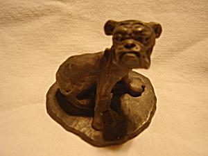 Prototype Hallmark Pewter Dog Figurine (Image1)