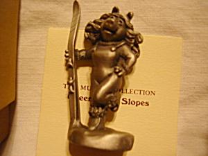Hallmark Pewter Miss Piggy Figurine (Image1)