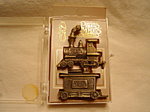 Precious Moments Pewter Two Piece Train Set