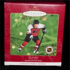 Eric Lindros NHL Hallmark Ornament (Image1)