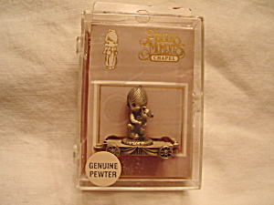 Precious Moments Pewter Train Car