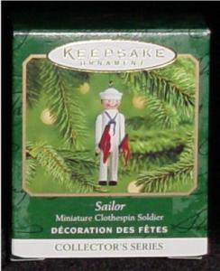 Sailor Miniature Hallmark Ornament (Image1)