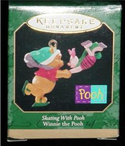 Skating with Pooh Hallmark Ornament (Image1)