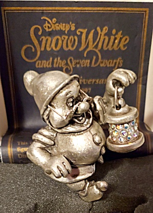 Snow White Doc Pewter Figurine