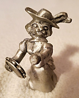 Schmid Cat Pewter Figurine