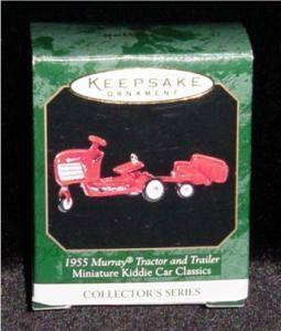 1955 Murray Tractor Mini Hallmark Ornament (Image1)