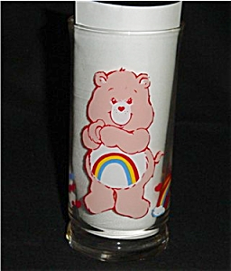 Care Bear Cheer Bear Pizza Hut Glass (Image1)