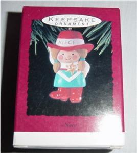 Hallmark 1993 Niece Ornament (Image1)