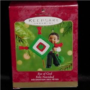 Feliz Navidad Eyes of God Hallmark Ornament (Image1)