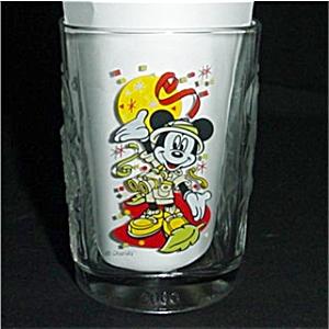 Mickey 2000 McDonald's Walt Disney Glass (Image1)