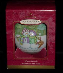 Winter Friends Hallmark Ornament (Image1)