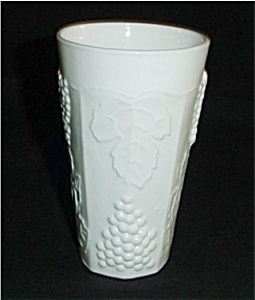 Indiana Milk Glass Drinking Glass
