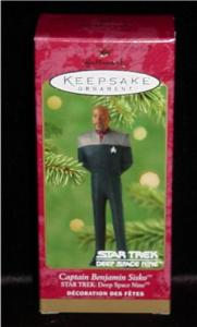 Star Trek Captain Sisko Hallmark Ornament (Image1)