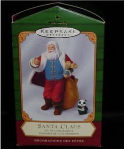 Santa Claus Hallmark Ornament (Image1)