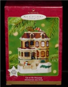 Up on the Housetop Hallmark Ornament (Image1)