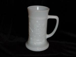 Federal  Milk Glass Stein (Image1)