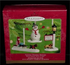 Victiorian Christmas Memories Ornament (Image1)
