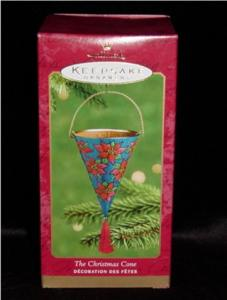 The Christmas Cone Hallmark Ornament (Image1)