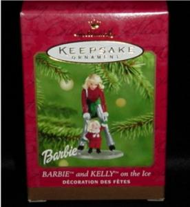 Barbie & Kelly on the Ice Hallmark Ornament (Image1)