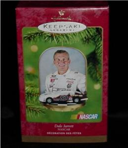 NASCAR Dale Jerrett Hallmark Ornament (Image1)