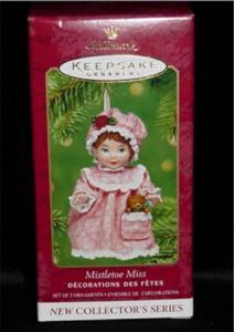 Mistletoe Miss Hallmark Ornament (Image1)