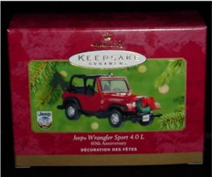 Jeep Christmas Ornament.Hallmark Jeep Ornament Holiday And Seasonal Christmas