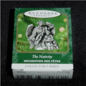 The Nativity Miniature Hallmark Ornament (Image1)