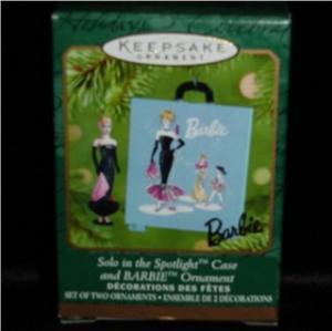 Solo in Spotlight Barbie Hallmark Ornament (Image1)