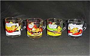 Mcdonalds Garfield Mug Set Of 4